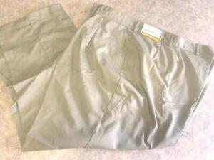 Women's ~LADY EDWARDS Utility Pleated Chino Pants - 8667 - Size 26~ Brand NEW