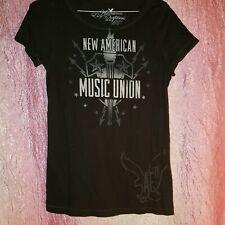 Womens American Eagle Music Union Shirt Size M