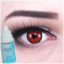Farbige Fun Crazy Kontaktlinsen Metatron Halloween Fasching GRATIS Komplettset