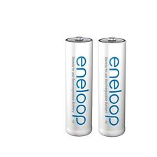 2x baterías sanyo Panasonic Eneloop AA 2000 mah nueva generación 2100 ciclos de carga!