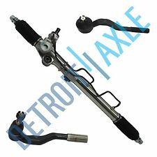 Complete Power Steering Rack and Pinion + 2 Outer Tie Rods for Toyota Tacoma
