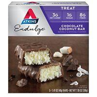 Atkins Endulge Treat, Chocolate Coconut Bar, 5 Count