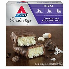 Atkins Endulge Treat, Chocolate Coconut Bar, 5 Count
