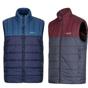 Men's Regatta Quilted Padded Golf Hiking Walking Gilet Bodywarmer Jacket RRP £50