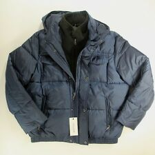 Cole Haan Coat/Jacket Signature Blue Winter Hooded Mens Size XL X-Large NEW $275
