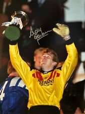 Signed Andy Goram Glasgow Rangers Photo 16x12 Autograph.Gers.WATP. Ibrox *Proof*