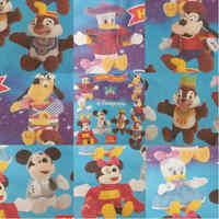 McDonalds Happy Meal Toy 2000 Disneyland Paris Walt Disney Soft Toys - Various