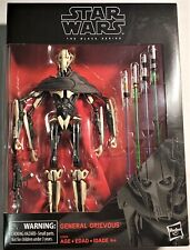 HASBRO STAR WARS BLACK SERIES * GENERAL GRIEVOUS * STRATEGIST & JEDI HUNTER NIB!