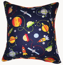 Space Pillow Planets Solar System Pillow Handmade in USA Saturn Planets