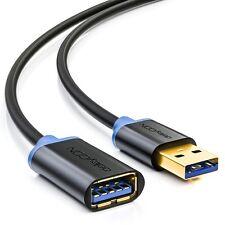 deleyCON 1,5m USB 3.0 Verl��ngerungskabel - USB A-Stecker zu USB A-Buchse