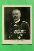 UM1) Marine Konteradmiral Ing. Schützler 1914-1918 Uniform Orden Spange 1.WK WWI