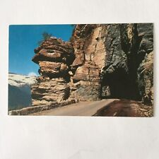 Clements Tunnel Glacier National Park Engineering Sun Hiway Unposted Postcard