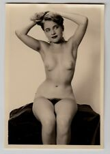 #623 RÖSSLER AKTFOTO / NUDE WOMAN STUDY * Vintage 1950s Studio Photo - no PC !