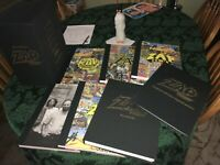 The Complete ZAP Comix Hard Cover Box Set SIGNED Edition R.Crumb  Mavrides