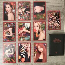 Twice Eyes Wide Open Preorder Photocard Full Set Story Version