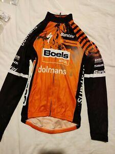 Long Sleeve Lightweight Jersey - Santini Pro World Tour Kit Boels Dolmans Team