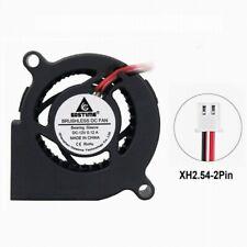 Gdstime 50x50x20mm  sleeve  12V 50mm 2 pin cooler turbine centrifugal blower fan