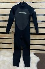O'Neill Youth Epic 3/2mm Back Zip Full Wetsuit, Black, SIZE 16
