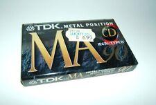 TDK MA 90 Metal Position Type IV Cassette 1996 OVP versiegelt