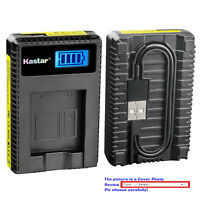Kastar Battery LCD Charger for Sony NP-BG1 NP-FG1 Sony Cyber-shot DSC-H3 Camera