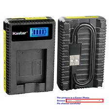 Kastar Battery LCD USB Charger for Sony NP-FT1 & Sony Cyber-shot DSC-T5/R