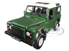 LAND ROVER DEFENDER GREEN 1:24-1:27 DIECAST MODEL CAR BY WELLY 22498