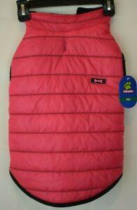 Top Paw - Pink Puffer Coat (Pet / Dog) Size Large
