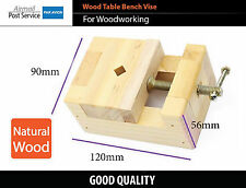 DIY Wood Working Tool Mini Flat Pliers Vise Clamp Table Bench Vice Carpenter