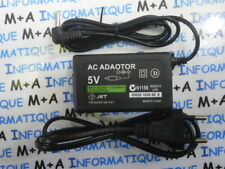 Chargeur pour Sony PSP 1000 - 2000 - 3000 Slim Fat 5V-2Amp