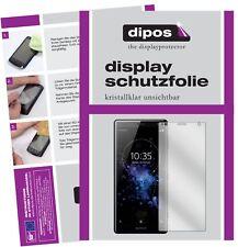 2x Sony Xperia XZ2 Schutzfolie klar Displayschutzfolie Folie Display Schutz