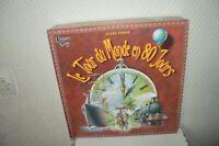 JEU LE TOUR DU MONDE EN 80 JOURS JULES VERNE UNIVERSITY GAME  VINTAGE 2007 TBE