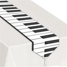 Printed Piano Keyboard Laminated Table Runner