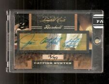 2011 Donruss Panini Jim Catfish Hunter HOF Limited Cuts Auto Autograph 18/49