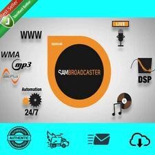 SAM Broadcaster PRO 2016.7 For Win ⚡️Latest ✔️30%OFF💯 Fast Delivery +BONUS 🎁