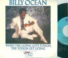 "BILLY OCEAN - WHEN THE GOING GETS TOUGH( DUTCH JIVE 145.212) 7""PS  1986"
