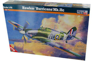 Plastic Kit MisterCraft 1:72  Scale HAWKER HURRICANE MK.IIC MCD208