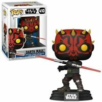 "Funko Pop! Darth Maul Star Wars The Clone Wars 3.75"" Vinyl Figure in Protector"