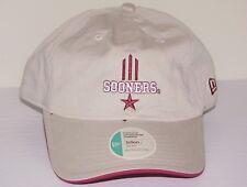 brand new c4d3e a03bd Vintage 2002 OKLAHOMA SOONERS NEW ERA Adjustable KHAKI Cotton STRAPBACK HAT  NWT