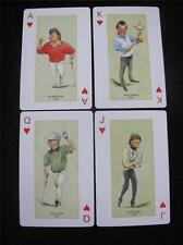 PACK NON STANDARD PLAYING CARDS - LADBROKE CASINO - SPORTING CARICATURES c2006