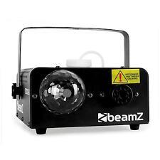 MAQUINA DE HUMO NIEBLA CON BOLA CRISTAL JELLY 3 LEDS RGB CONTROL PEDAL DMX MANDO