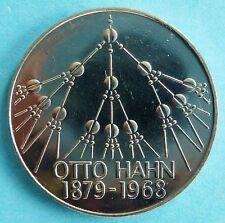 5 DM Gedenkmünze, Otto Hahn