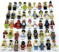 LEGO NEW 10 MINIFIGS TOWN CITY SERIES STAR WARS NINJAGO FIGS SET MORE