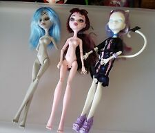 Monster High Doll Lot Loose