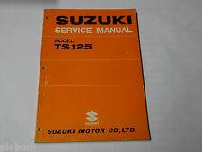 Werkstatthandbuch Workshop Manual Suzuki TS 125, Stand 10/1970