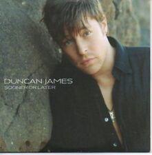 (AH112) Duncan James, Sooner or Later - DJ CD