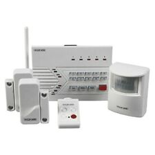 Sistema di allarme senza fili con combinatore telefonico telefonici, 2 porta/finestra, 1 PIR Sensore, remote
