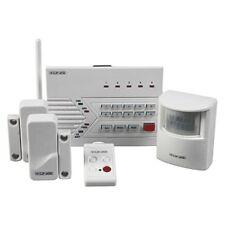 WIRELESS ALARM SYSTEM WITH TELEPHONE DIALER, 2 DOOR/WINDOW, 1 PIR SENSOR, REMOTE