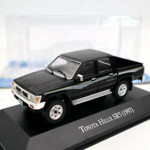 1:43 IXO Toyota Hilux SR5 1997 Pick Up Black Diecast Models Collection Used
