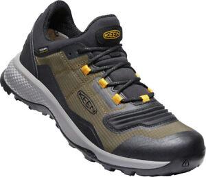 Keen Herren Sneaker Tempo Flex Waterproofed 1024857 Oliv Keen Dry, Bellows Flex
