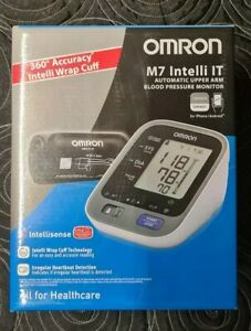 Omron M7 Intelli IT Upper Arm Blood Pressure Monitor Brand New and Sealed